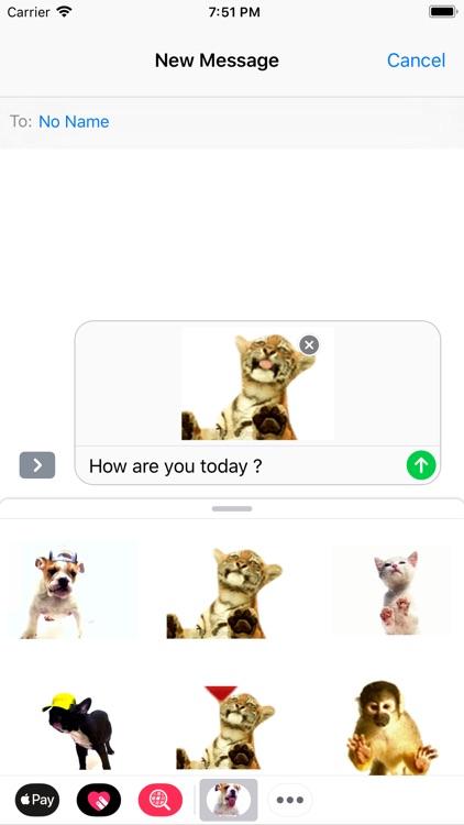 Slurp stickers for pet lovers