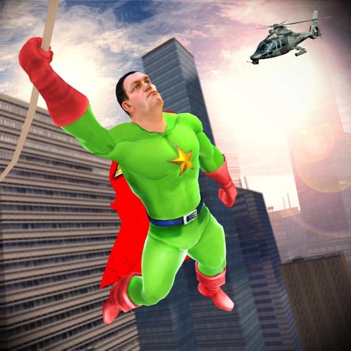 Robot Rope Hero: Crime Fighter
