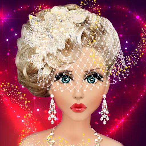 Barbie Wedding Makeup & Dress