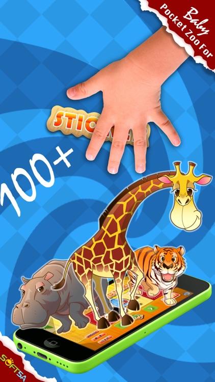 Zoo Sticker:Preschool Learning