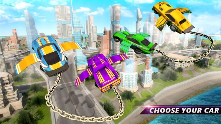 Flying Chain Car Air Wings screenshot-4