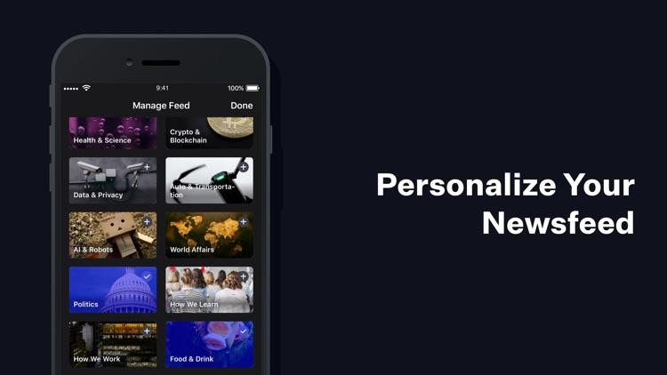 NewsPicks: News Digest App screenshot-4