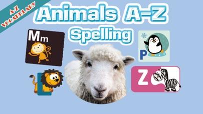 Animal A-Z English Spelling screenshot one
