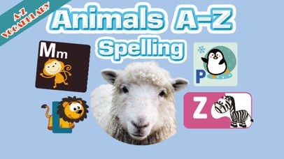Animal A-Z English Spelling screenshot one
