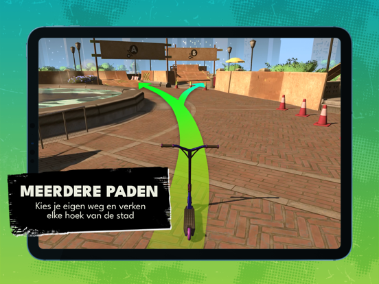 Touchgrind Scooter iPad app afbeelding 6