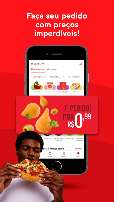 Baixar iFood: Delivery de comida para Android