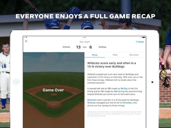 GameChanger Baseball Softball Скриншоты13