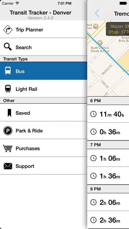 Transit Tracker - Denver screenshot-1