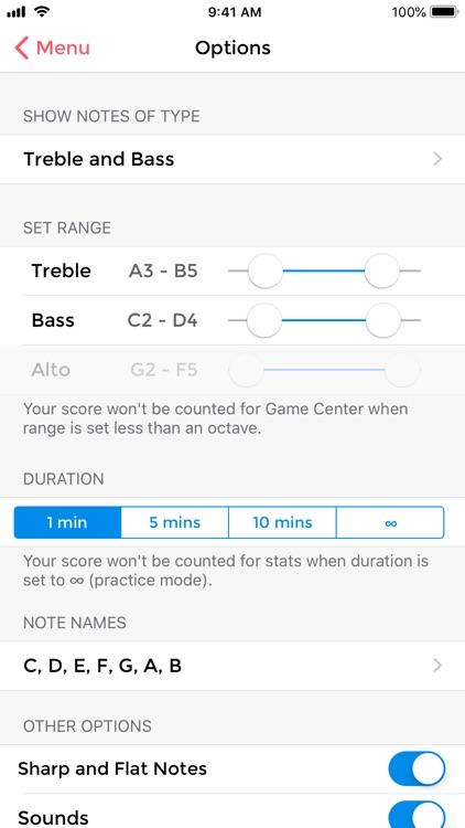 Music Tutor (Sight-reading) screenshot-6
