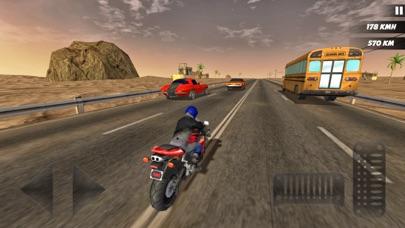 Highway Bike Rider 2018 screenshot four