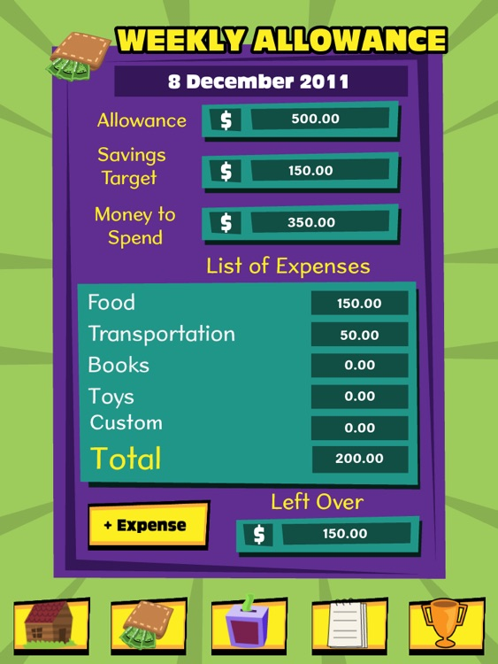 Pocket Money Manager HD