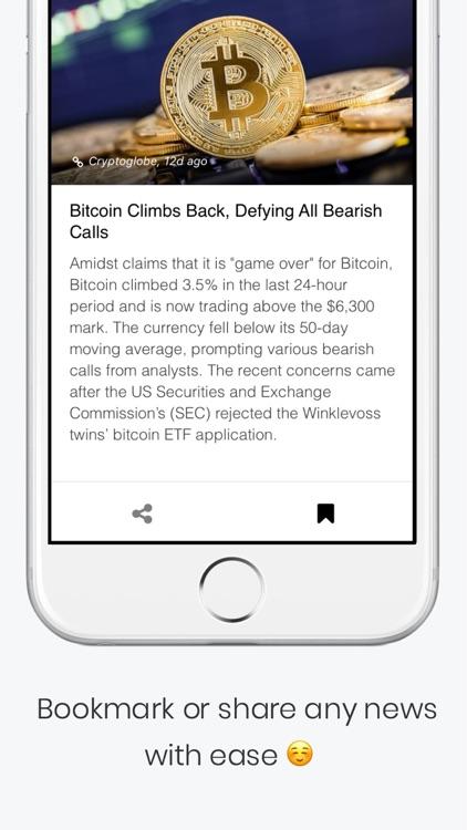 CryptoShorts - Crypto News App screenshot-3