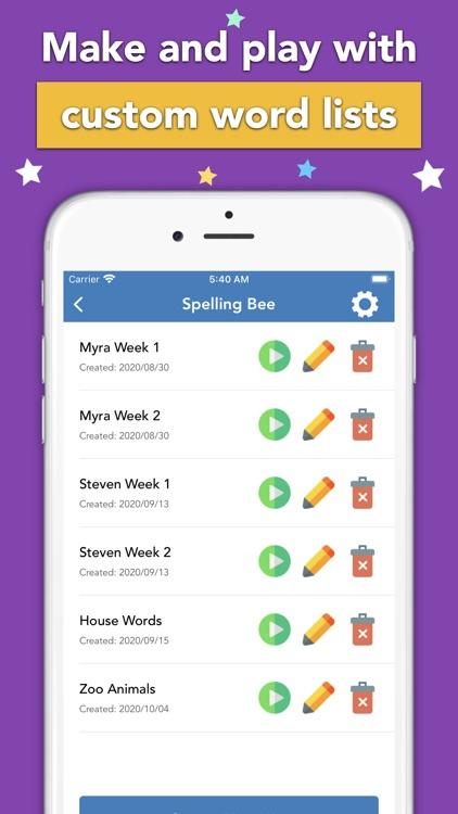 Spellbee: Spelling Bee Games screenshot-3