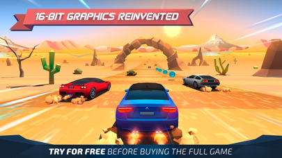 Screenshot from Horizon Chase - World Tour