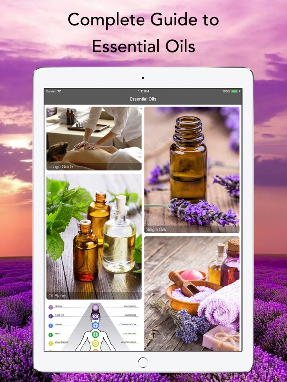 Essential Oils Complete Guide Screenshots