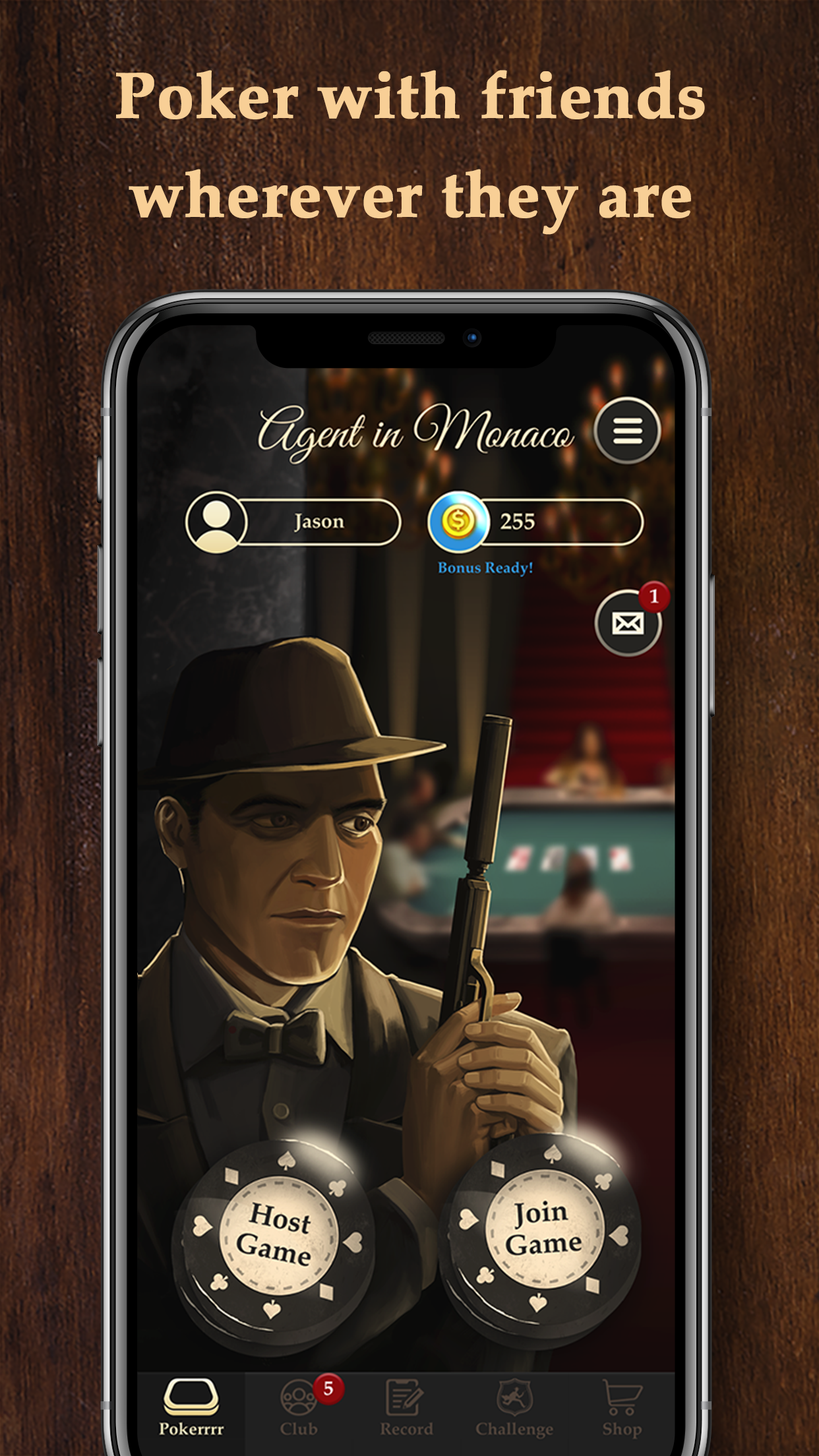 Pokerrrr 2-Poker with Buddies Screenshot