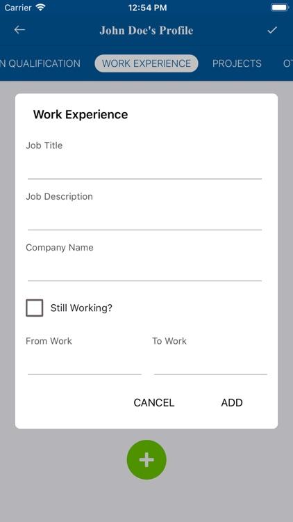 Resume Builder - CV makers screenshot-7