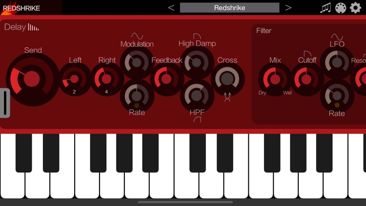 Redshrike - AUv3 Plugin Synth screenshot-4