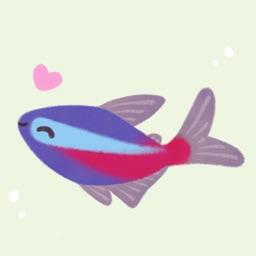 Happy tropical fish (taster)