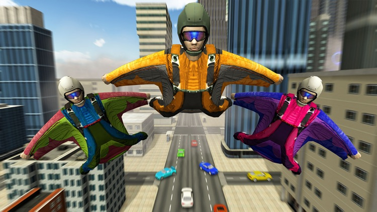 Skyman Stunt Hero 3d screenshot-2