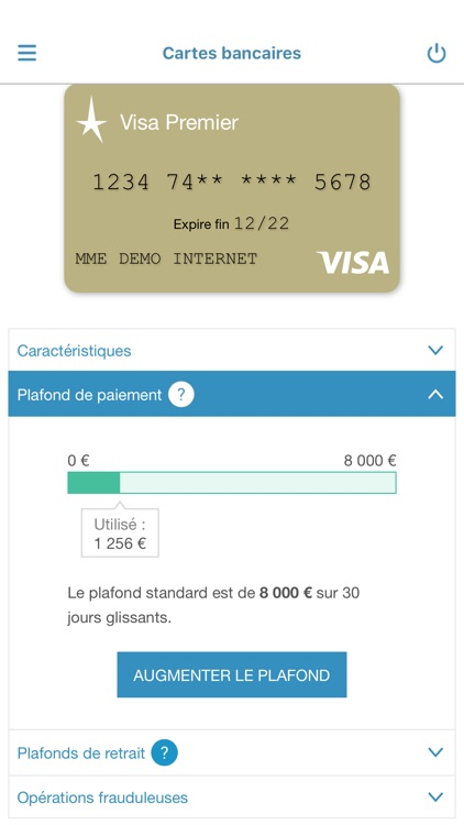 Banque Tarneaud pour iPhone screenshot-0