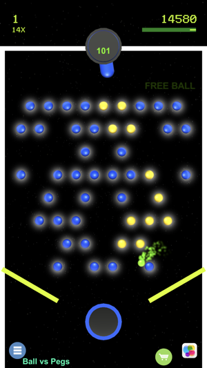 Ball vs Pegs Screenshot