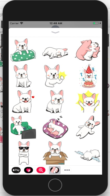 French Bulldog Stickers Ungdee
