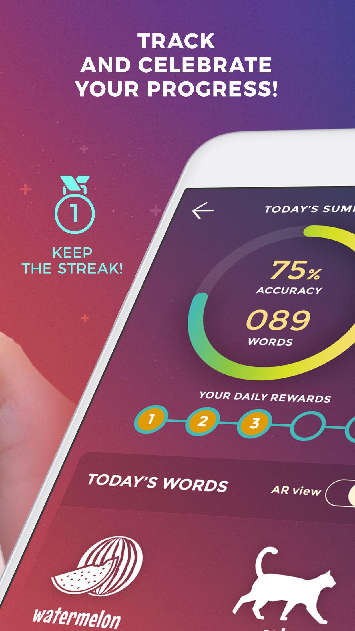 Drops: Learn 30 new languages Screenshot
