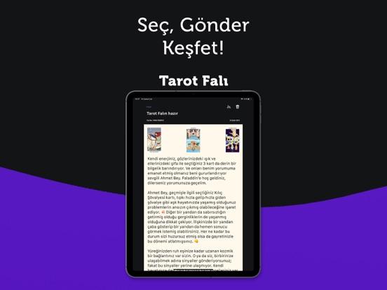 Faladdin: Tarot & Kahve Falı ipad ekran görüntüleri