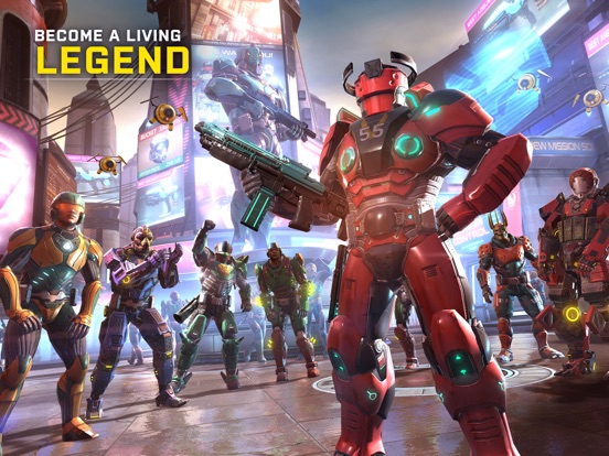 SHADOWGUN LEGENDS-ipad-2