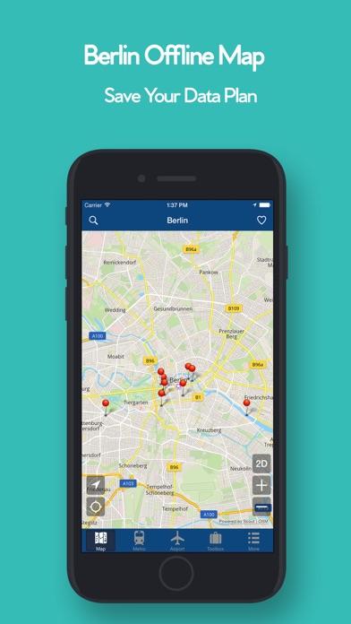 柏林離線地圖 - 城市 地鐵 機場屏幕截圖1