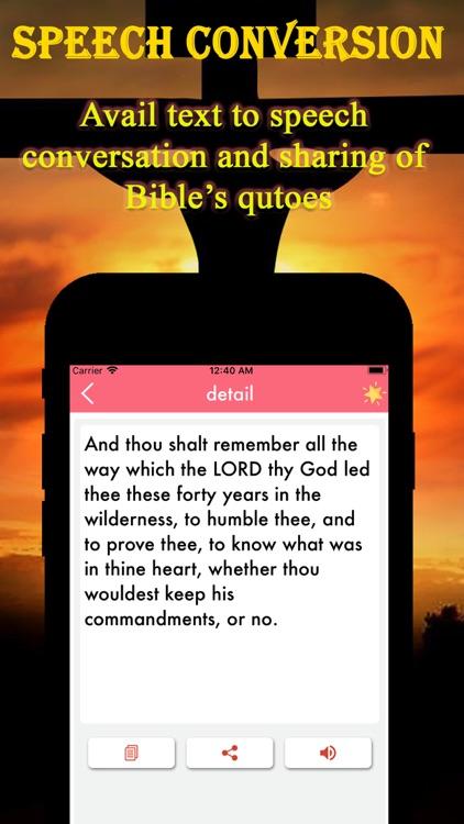 Bible Inspirational screenshot-4