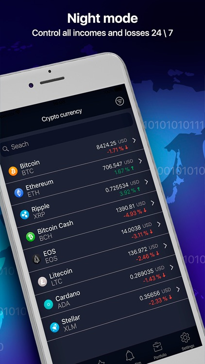 Crypto Snaper: bitcoin tracker screenshot-4