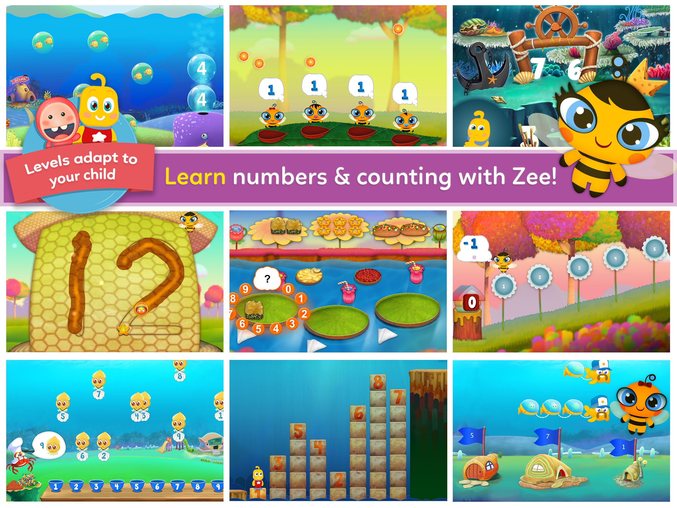 Agnitus Kids: Learn Math & ABC Screenshot