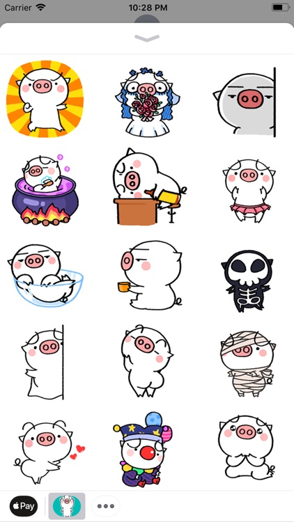Fatty Pig Stickers