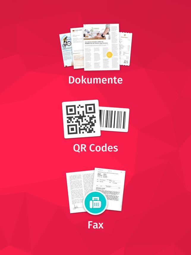 Scanbot - Scanner App & Fax Screenshot