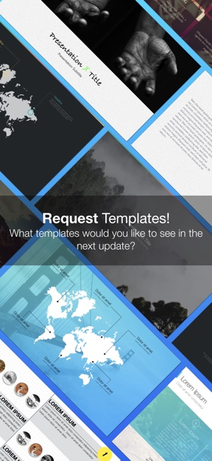 Templates for Keynote (Nobody) on the App Store