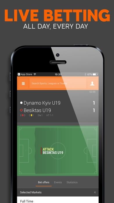 888 Sport: Live Sports Betting screenshot two