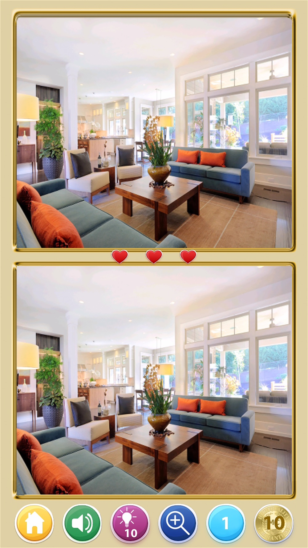 Find The Difference! Rooms HD Cheat Codes