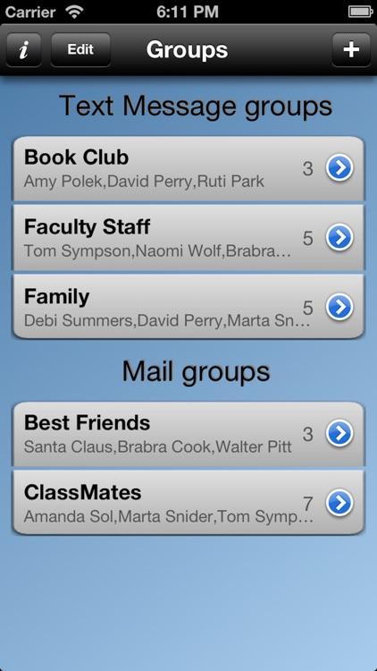 Multi Groups screenshot-4