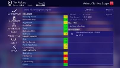 World Title Boxing Manager screenshot #6
