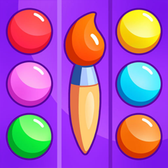 Colors games learning drawing