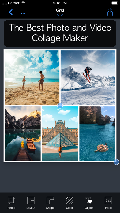 FrameMagic - Collage Maker ScreenShot0