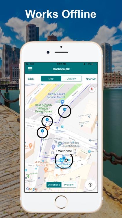 Boston Harborwalk Tour Guide screenshot-4