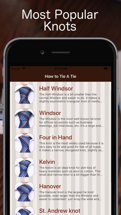 Tie a Necktie 3D Animatedのおすすめ画像3