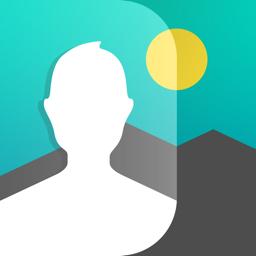 Ícone do app Juxtaposer: cut, combine, edit