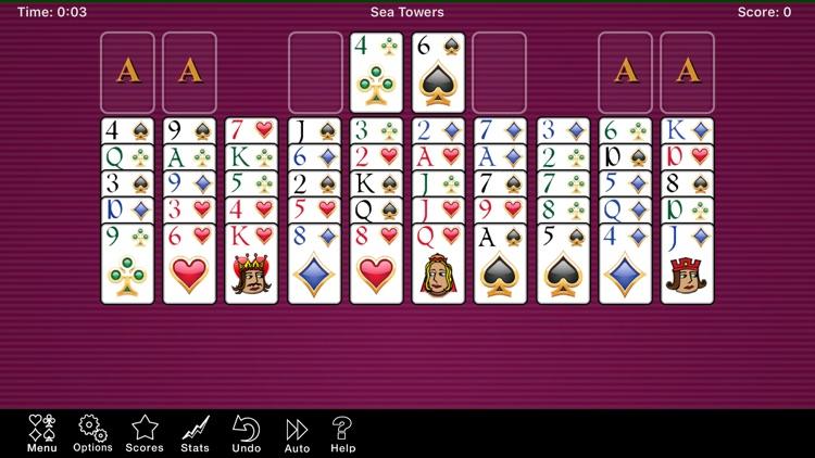 Sea Towers Solitaire Game screenshot-8