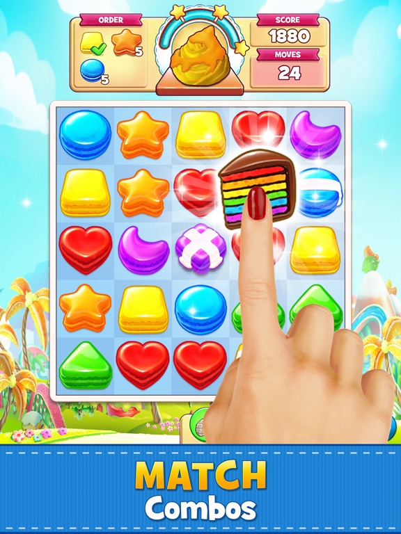 Cookie Jam: Match 3 Games iPad app afbeelding 1