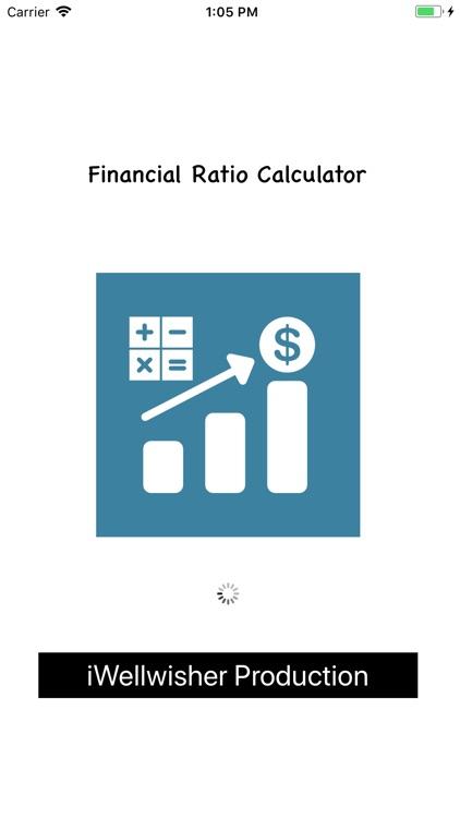 Financial Ratios Calculator