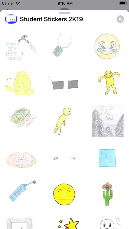 Student Stickers 2K19 screenshot-4